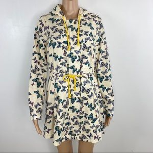ModCloth In With the Whimsical Jacket Butterflies